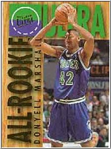 NBA 1994 / 95 Ultra All-Rookies - No 6 of 15 - Marshall