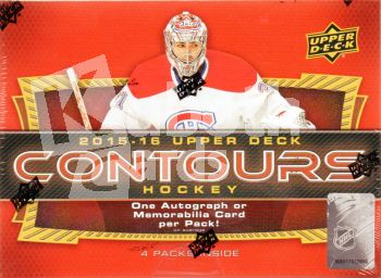 NHL 2015-16 Upper Deck Contours