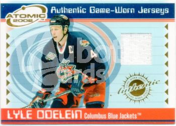 NHL 2001-02 Atomic Jerseys - No 15 - Lyle Odelein