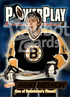 NHL 2001-02 Atomic Power Play - No 3 - Sergei Samsonov