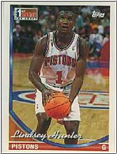 NBA 1993 / 94 Topps - No 331 - Lindsey Hunter