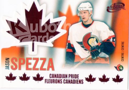 NHL 2003-04 Mc Donald's Pacific Canadian Pride - No 5 - Jason Spezza