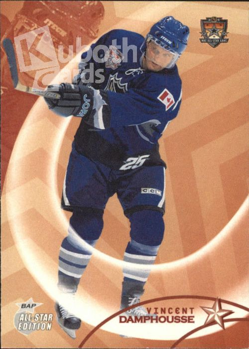 NHL 2002-03 BAP All-Star Edition - No 16 - Vincent Damphousse