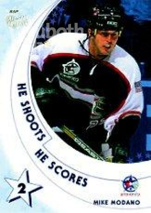 NHL 2002-03 BAP All-Star Edition He Shoots - He Scores Points - No 15 - Mike Modano
