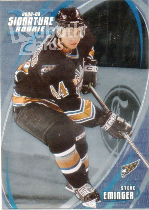 NHL 2002-03 BAP Signature Series - No 200 - Steve Eminger