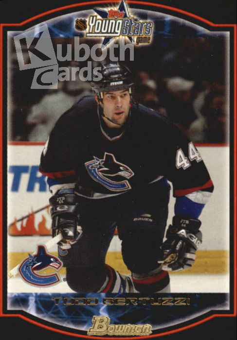 NHL 2002-03 Bowman YoungStars - No 4 - Todd Bertuzzi