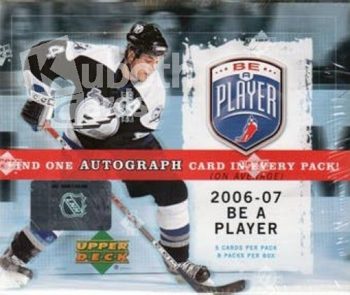 NHL 2006-07 Upper Deck Be A Player Signature