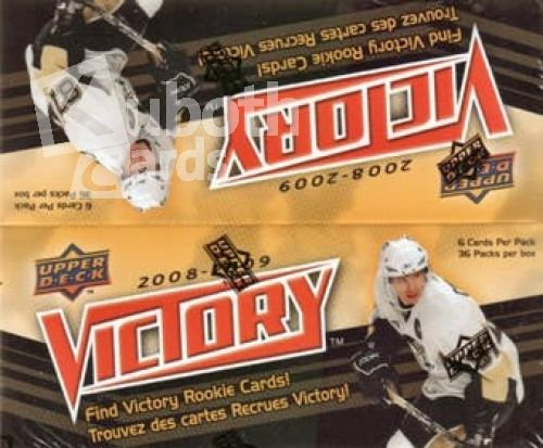 NHL 2008-09 Upper Deck Victory