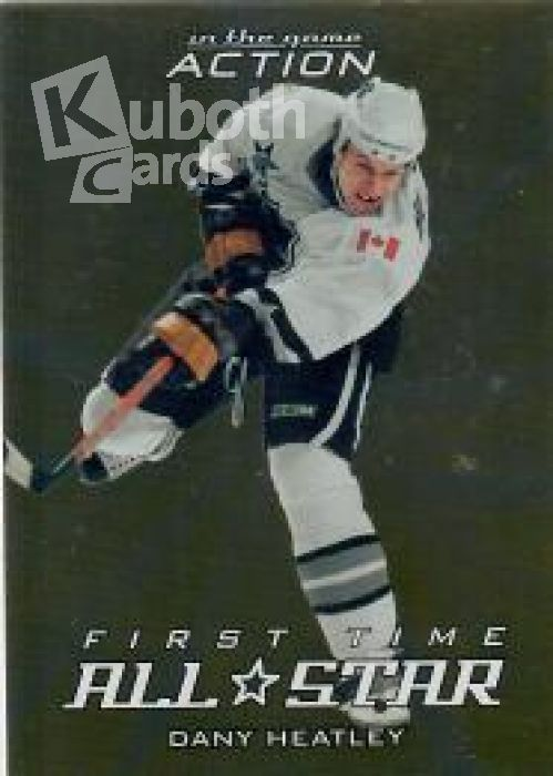 NHL 2003-04 ITG Action Frst Time All-Star - No FT-2 - Dany Heatley