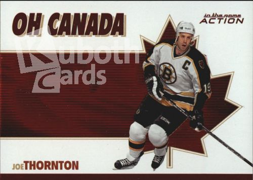 NHL 2003-04 ITG Action Oh Canada - No OC-14 - Joe Thornton