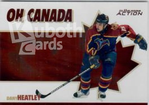 NHL 2003-04 ITG Action Oh Canada - No OC-10 - Dany Heatley