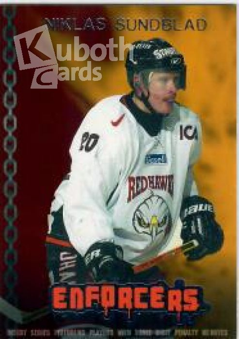 NHL/SHL 2003-04 Swedish SHL Elitset Enforcers - No EF11 - Niklas Sundblad