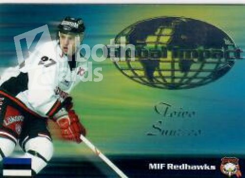 NHL/SHL 2003-04 Swedish SHL Elitset Global Impact - No 9 of 12 - Toivo Suursoo
