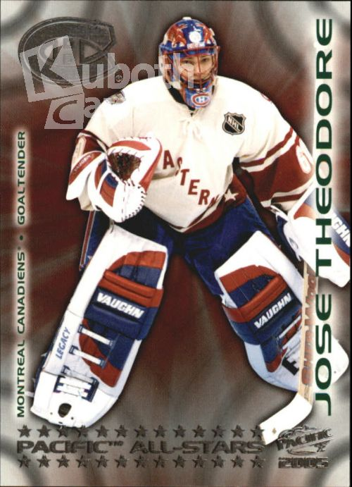 NHL 2004-05 Pacific All-Stars - No 9 - Jose Theodore