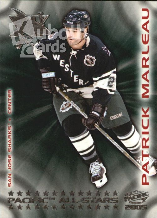 NHL 2004-05 Pacific All-Stars - No 11 - Patrick Marleau
