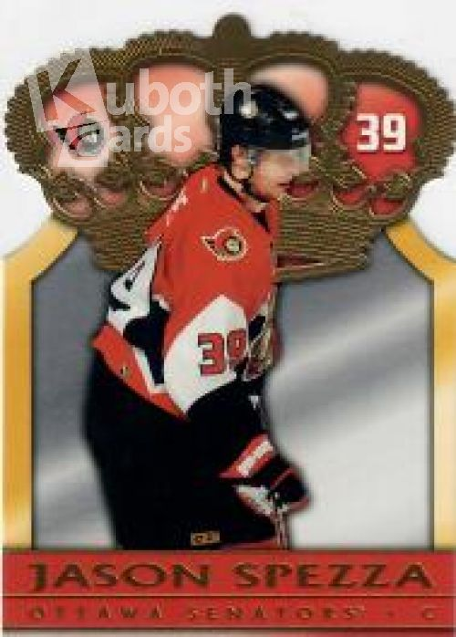 NHL 2004-05 Pacific Gold Crown Die-Cuts - No 7 - Jason Spezza