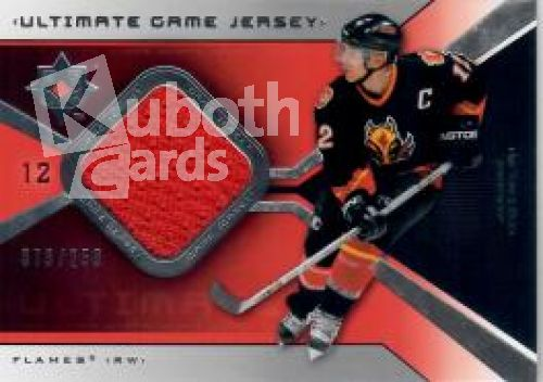NHL 2004-05 Ultimate Collection Jerseys - No UGJ-JI - Jarome Iginla