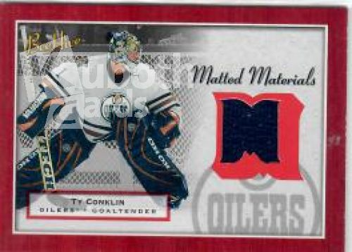 NHL 2005-06 BeeHive Matted Materials - No MM-TC - Ty Conklin