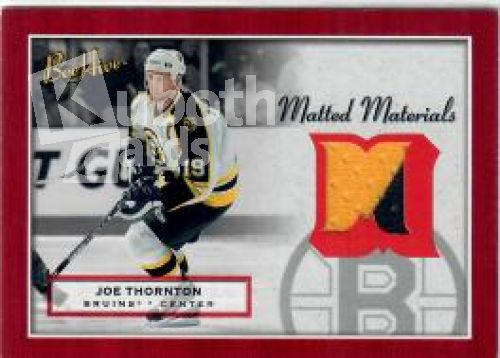 NHL 2005-06 BeeHive Matted Materials - No MM-JT - Joe Thornton