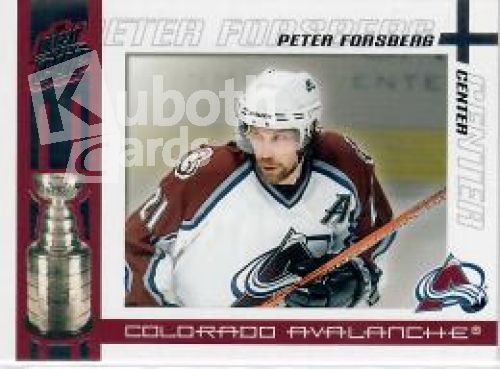 NHL 2003-04 Pacific Quest for the Cup - No 23 - Peter Forsberg
