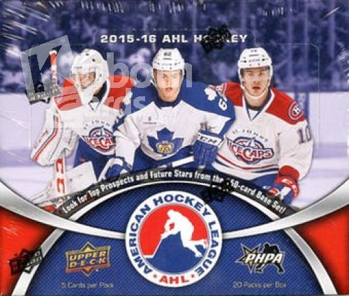 NHL 2015-16 Upper Deck American Hockey League AHL