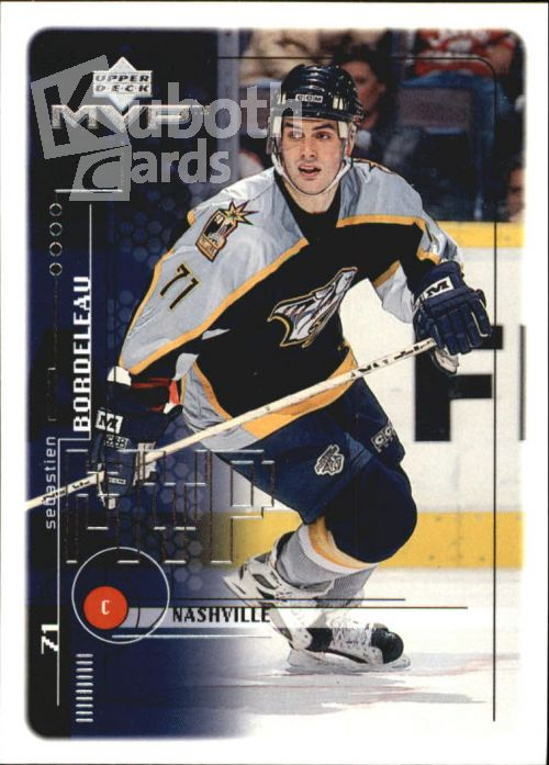 NHL 1998-99 Upper Deck MVP - No 115 - Sebastien Bordeleau