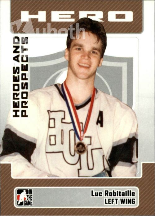 NHL 2006-07 ITG Heroes and Prospects - No 10 - Luc Robitaille