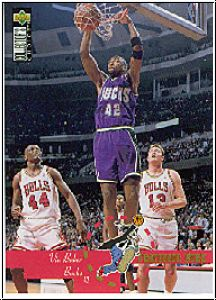 NBA 1996 Collectors Choice Int'l 1 French - No 197 Baker