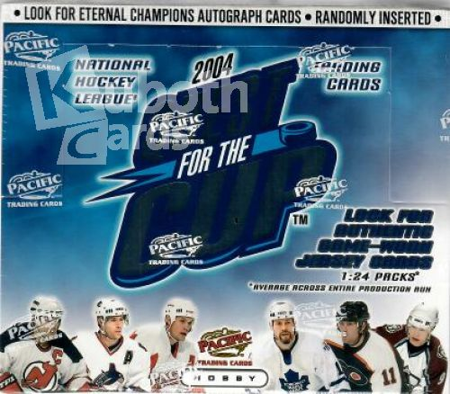 NHL 2003-04 Pacific Quest for the Cup