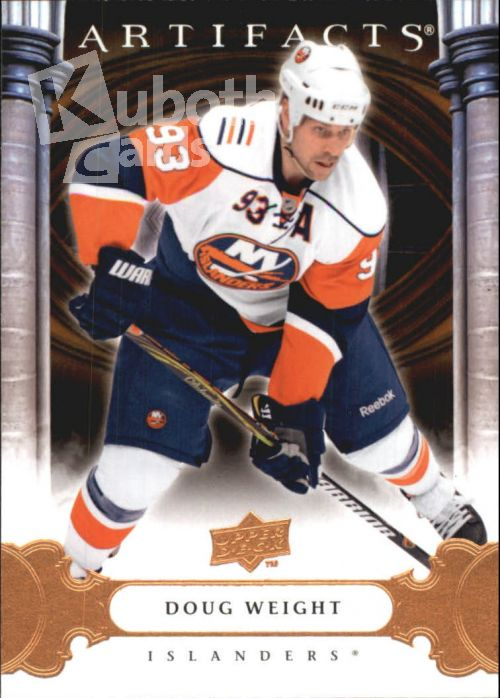 NHL 2009-10 Artifacts - No 10 - Doug Weight