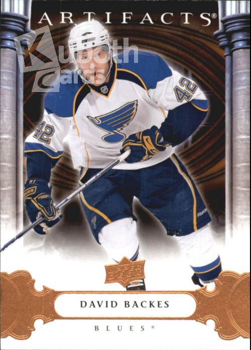 NHL 2009-10 Artifacts - No 47 - David Backes