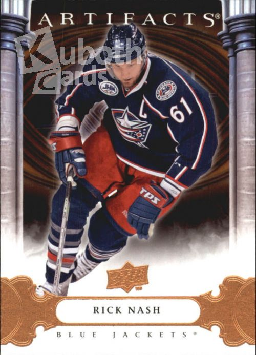 NHL 2009-10 Artifacts - No 90 - Rick Nash
