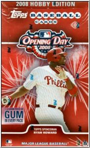 MLB 2008 Topps Opening Day