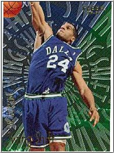NBA 1996 / 97 Fleer Swing Shift - No 6 of 15 - Jim Jackson