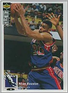NBA 1994 / 95 Collectors Choice - No 162 - Allan Houston