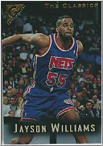 NBA 1995 / 96 Topps Gallery - No 106 - Jayson Williams