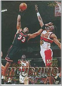 NBA 1997 / 98 Fleer - No 43 - Alonzo Mourning