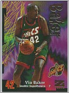 NBA 1997 / 98 Z-Force - No 172A - Vin Baker
