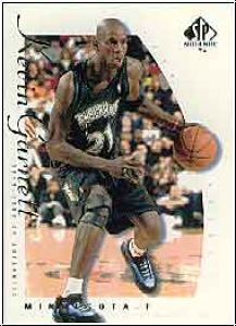 NBA 1999 / 00 SP Authentic - No KG - Kevin Garnett