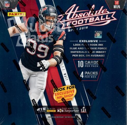NFL 2016 Panini Absolute Premium Box