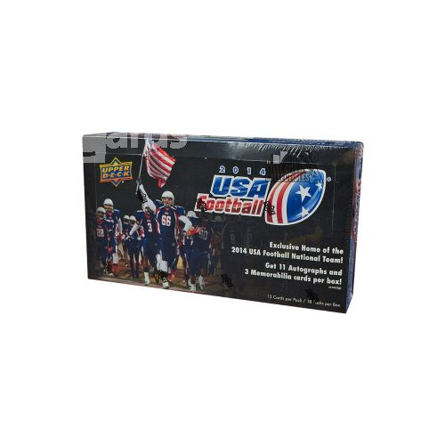 NFL 2014 Upper Deck Football USA Hobby