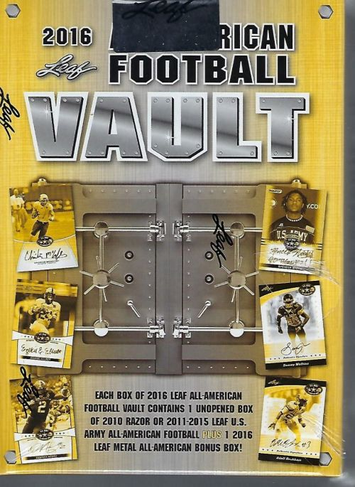 NFL 2016 Leaf All-American Vault Hobby