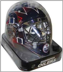 NHL Franklin Mini Goalie Maske - Edmonton Oilers