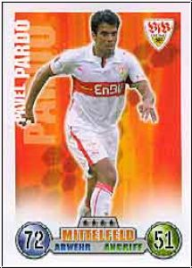 Fussball 2009 Topps Match Attax - No 297 - Pavel Pardo