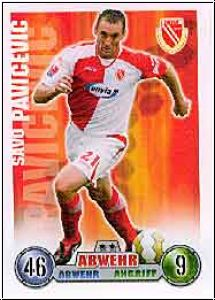 Fussball 2009 Topps Match Attax - No 80 - Savo Pavicevic