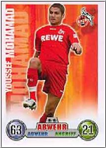 Fussball 2009 Topps Match Attax - No 206 - Youssef Mohamad
