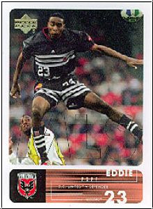 Fussball 2000 Upper Deck MLS Soccer - No 4 - Eddie Pope