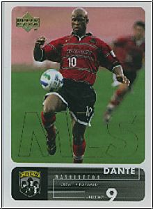 Fussball 2000 Upper Deck MLS Soccer - No 18 - D. Washington