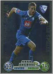 Fussball 2009 Topps Match Attax - No 54 - Stanislav Sestak