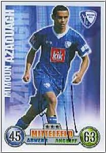 Fussball 2009 Topps Match Attax - Mimoun Azaouagh